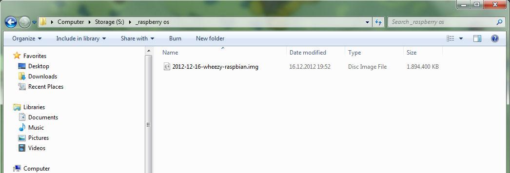 Install Raspbian