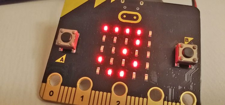 micro:bit internal temperature sensor